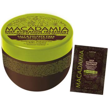 Интенсивно увлажняющая маска для нормальных и поврежденных волос MACADAMIA KATIVA
