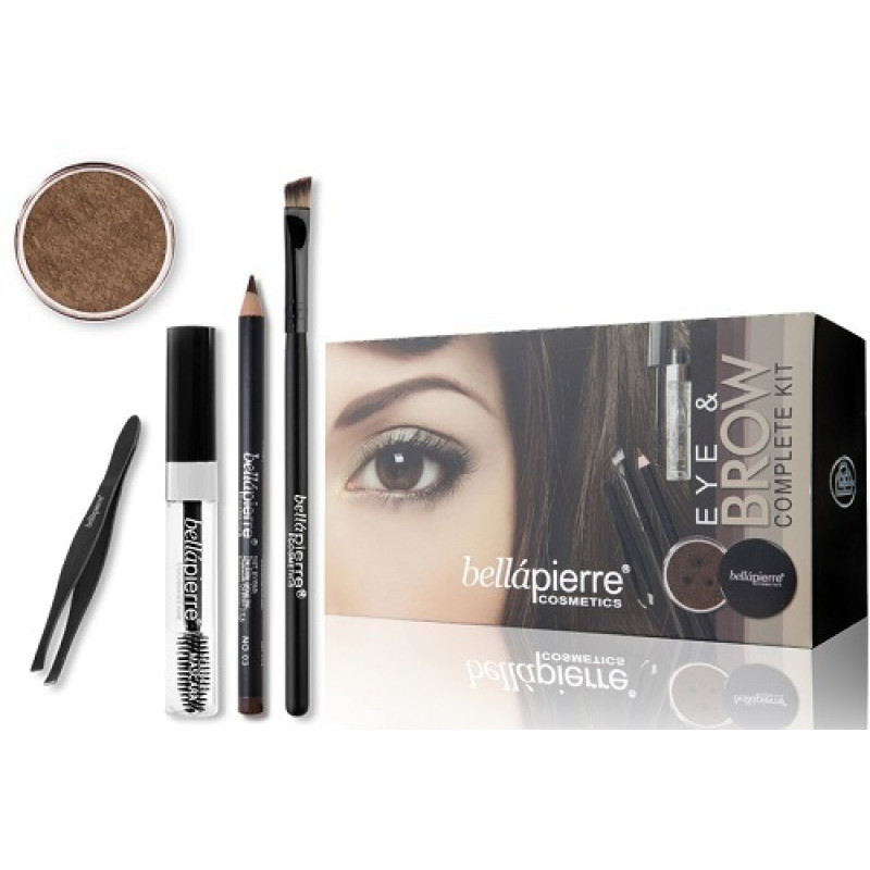 Набор для макияжа глаз и бровей Eye & Brow Complete Kit - Blonde BELLAPIERRE
