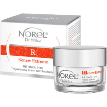 Восстанавливающий и омолаживающий крем с ретинолом / Norel Renew Extreme - Retinol H10 - Triple active rejuvenation cream NOREL DR.WILSZ