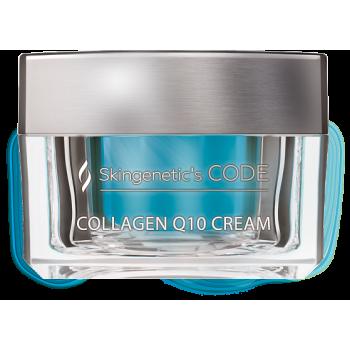 Крем для лица на основе коэнзима Collagen Q10 SKINCODE