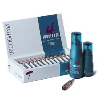 Универсальное укладочное средство для волос в ампулах TRICODERMA