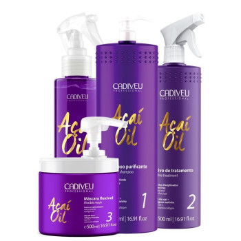 Набор Acai oil для проведения процедуры CADIVEU