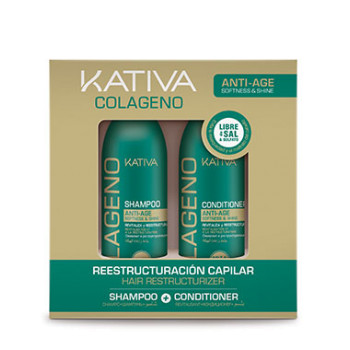 Набор коллагеновый шампунь + кондиционер COLLAGENO KATIVA