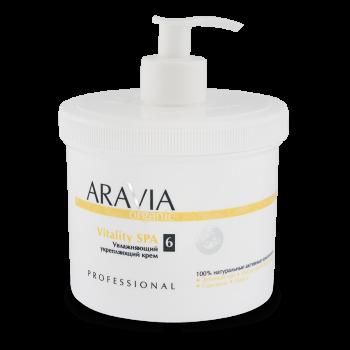 ARAVIA Organic Увлажняющий укрепляющий крем Vitality SPA