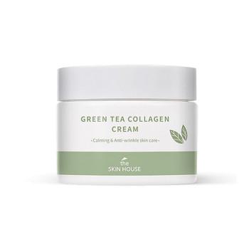 Успокаивающий крем на основе коллагена и экстракта зелёного чая THE SKIN HOUSE