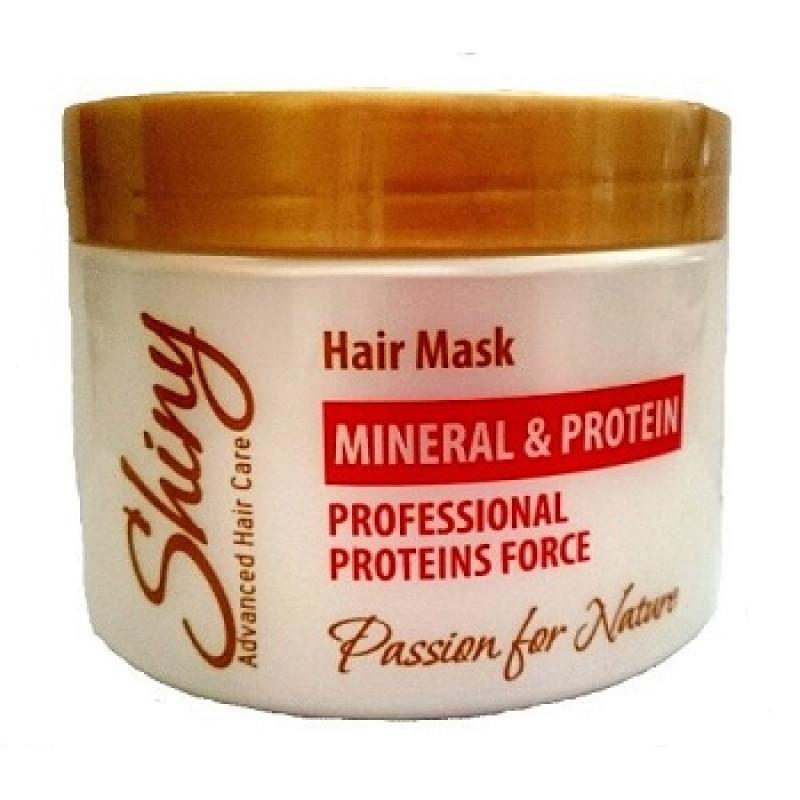 Маска красоты для волос с протеином SHINY