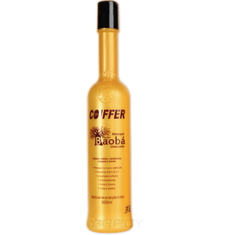 Маска-мусс для увлажнения волос Baoba Hidratacao COIFFER