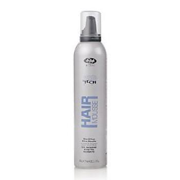 Мусс-гель для укладки для создания эффекта мокрых волос High Tech Hair Gel Mousse Wet Effect LISAP MILANO