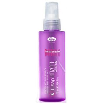Масло для выпрямления вьющихся волос Lisap Ultimate Keratin Oil Plus LISAP MILANO