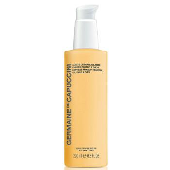 Масло для экспресс демакияжа Options Express Makeup Remov.Oil Face Eyes GERMAINE DE CAPUCCINI