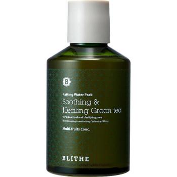 Сплэш-маска для восстановления Смягчающий и заживляющий Зеленый Чай BLITHE