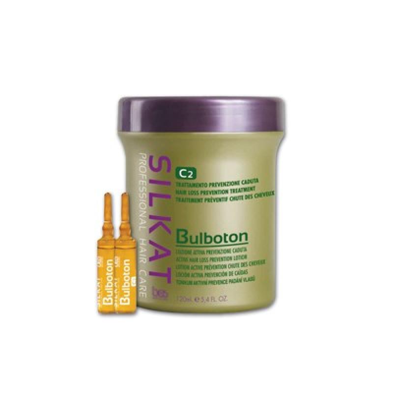Активный лосьон от выпадения волос SILKAT BULBOTON C2 BES