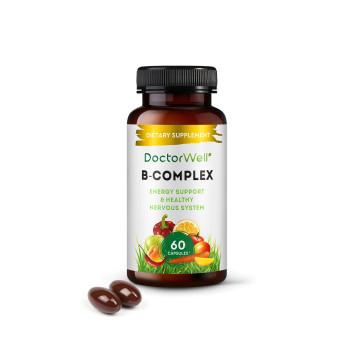 Комплекс для поддержки нервной системы и красоты с Омега 3-6-9, Чиа и Биотином B-Complex DoctorWell