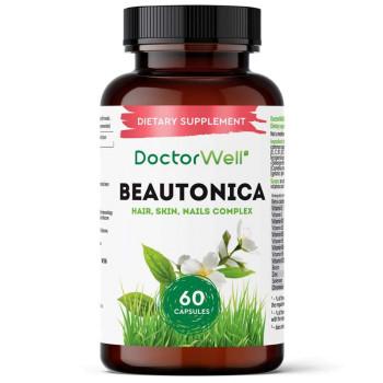 Комплекс витаминов для женщин Beautonica Skin Hair Nails DoctorWell