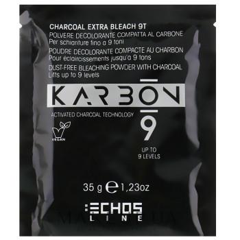 Обесцвечивающий угольный порошок в сашше для осветления до 9 тонов ECHOSLINE