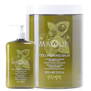 Натуральный кондиционер для защиты цвета окрашенных и обесцвеченных волос MAQUI 3 PROTECTIVE VEGAN CONDITIONER ECHOSLINE