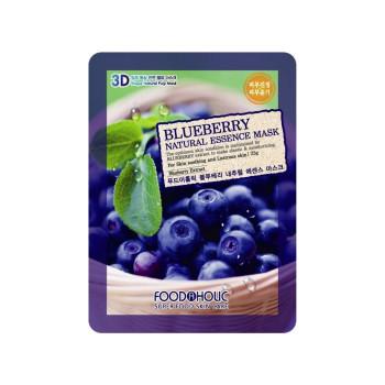 Маска для лица Blueberry Natural Essence Mask 5 шт FOODAHOLIC