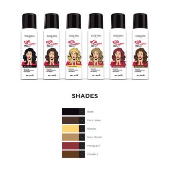 Спрей цветной прикорневой для волос EUGENE PERMA
