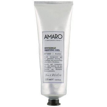 Amaro Invisible Shaving Gel Прозрачный гель для бритья FARMAVITA