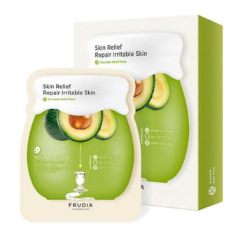 Восстанавливающая маска для лица с авокадо FRUDIA