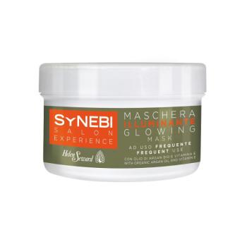 SYNEBI Glowing Mask Маска для придания блеска и яркости с органическим маслом и витамином Е HELEN SEWARD