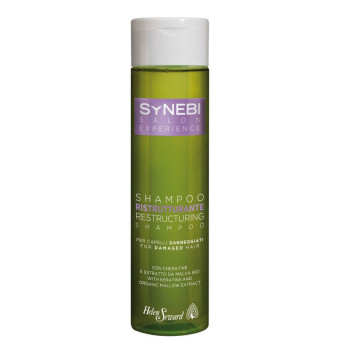 SYNEBI Restructuring Shampoo Восстанавливающий шампунь с кератином и экстрактом мальвы HELEN SEWARD