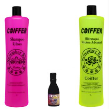 Профессиональный набор для максимального увлажнения волос COIFFER