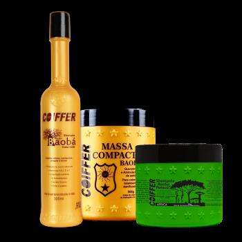 Набор для увлажнения смешанных, сухих и вьющихся волос Baoba COIFFER