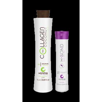 Набор нанопластики Bio Coconut Collagen + H-Bond Protector P2 Potentiating HONMA TOKYO