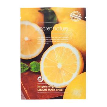 Маска придающая сияние коже с лимоном SECRET NATURE