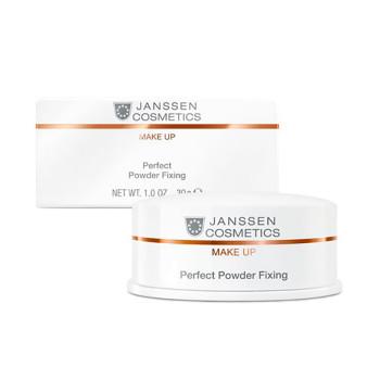 Специальная пудра для фиксации макияжа Perfect Powder Fixing JANSSEN COSMETICS
