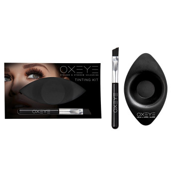 Комплект OXEYE для окрашивания бровей: аппликатор, миска KAYPRO