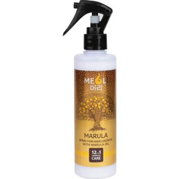Спрей для роста волос с маслом Марулы комплексный уход 12 в 1 MEOLI