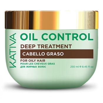 OIL CONTROL Маска Контроль интенсивный уход для жирных волос KATIVA
