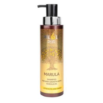 Шампунь для роста волос с маслом Марулы Сила и блеск MEOLI