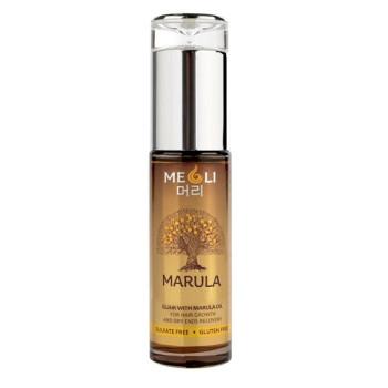 Эликсир с маслом Марулы для роста волос и восстановления сухих кончиков MEOLI