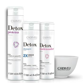 Набор Home Care Основной уход Detox CADIVEU