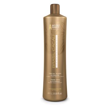 Безсульфатный разглаживающий шампунь Anti Frizz Shampoo Sulfate Free CADIVEU