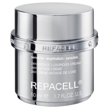Крем-люкс для чувствительной кожи REPACELL® 24H Antiage Luxurious Cream Sensitive KLAPP
