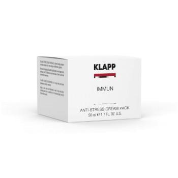 "Крем-маска ""Анти-стресс"" IMMUN Anti-Stress Cream Pack KLAPP"