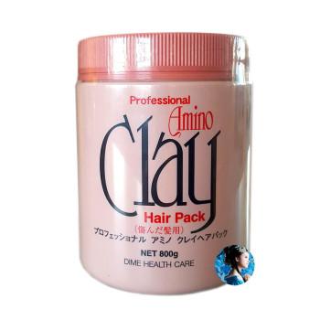 Профессиональная маска на основе аминокислот и глины для повреждённых волос DIME HEALTH CARE PRO AMINO