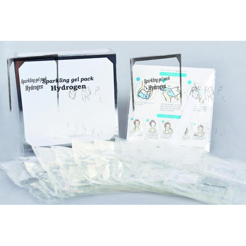 Гелевая маска обогащенная водородом 10 шт Sparkling Gel Pack Hydrogen MARY PLATINUE