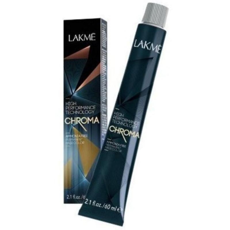 Перманентная крем-краска для волос без амиака CHROMA LAKME