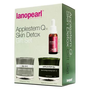 Applestem Q10 Skin Detox Набор омоложение кожи LANOPEARL