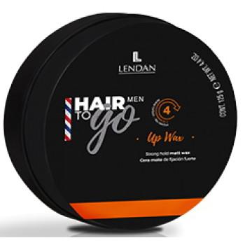 Матирующий воск сильной фиксации Up Wax Hair To Go Men LENDAN