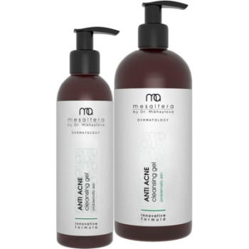 ANTI ACNE CLEANSING GEL / Анти Акне клинсинг, Очищающий гель для жирной и проблемной кожи Mesaltera by dr. Mikhaylova