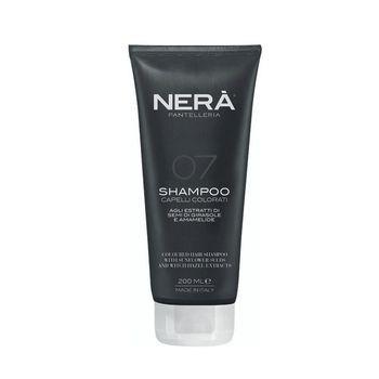 Шампунь для сохранения цвета окрашенных волос с экстрактами семян подсолнечника и гамамелиса NERA