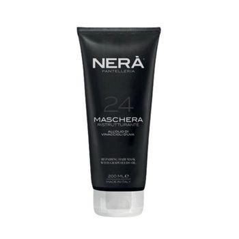 Восстанавливающая маска для сухих и поврежденных волос с маслом виноградных косточек NERA