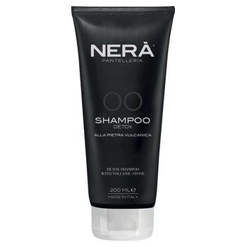 Детокс шампунь для всех типов волос с вулканическим камнем Nerà