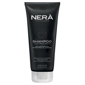 Шампунь для ежедневного применения для всех типов волос с экстрактами розмарина и лаванды NERA